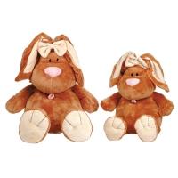 Кролик коричневый сидячий 71 см